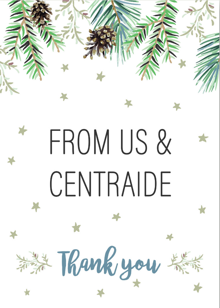 Centraide Thank You